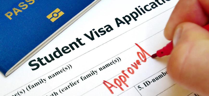 Как оформить визу студенту